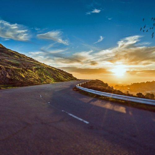 winding road, road, travel